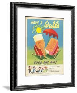 Wall's, Ice-Cream, UK, 1950