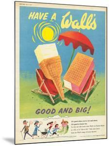 Wall's, Ice-Cream, UK, 1950