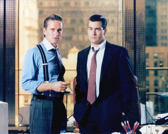 Wall Street (1987)--Photo