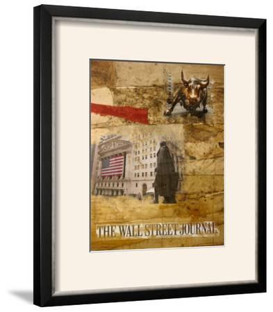 Wall Street I-Andrew Sullivan-Framed Photographic Print