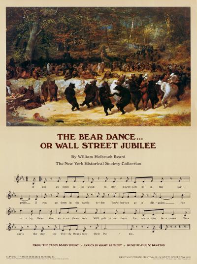 Wall Street Jubilee-William Holbrook Beard-Art Print