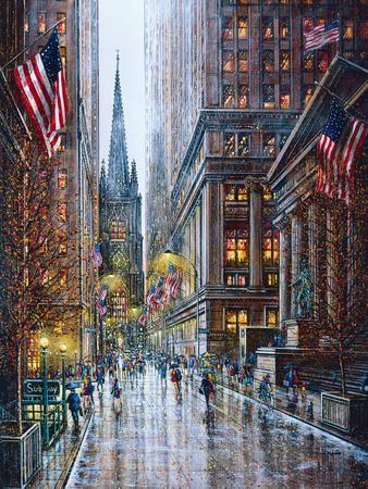 Wall Street-Guy Dessapt-Art Print