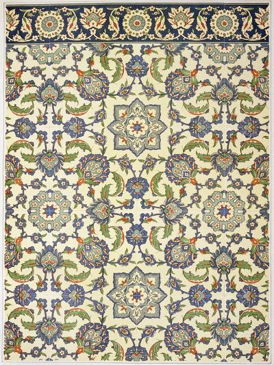 Wall Tiles of Qasr Rodouan-Emile Prisse d'Avennes-Giclee Print