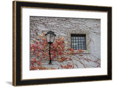 Wall with Light. Salzburg. Austria-Tom Norring-Framed Photographic Print