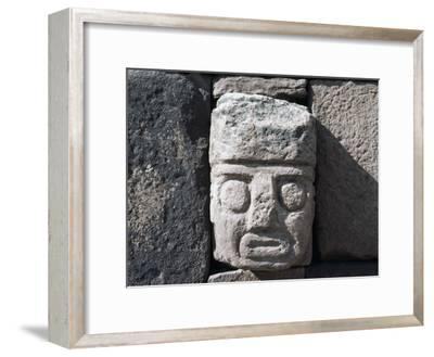 Wall with Stone Head, Archaeological Site of Tiwanaku