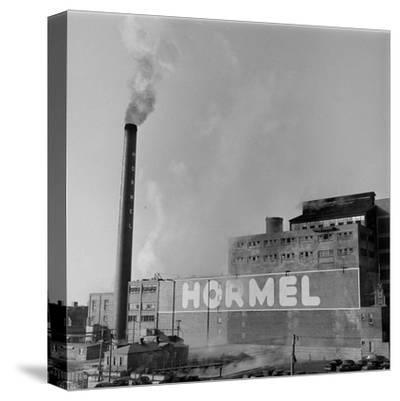 1946: Exterior of the Hormel Foods Corporation Meat Factory, Austin, Minnesota
