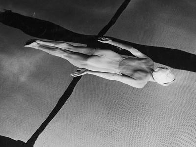 Swimmer Jeanne Wilson Underwater