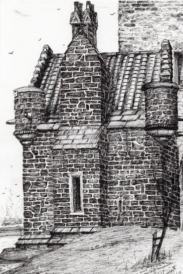 Wallace Monument,The Small House, 2007-Vincent Alexander Booth-Giclee Print
