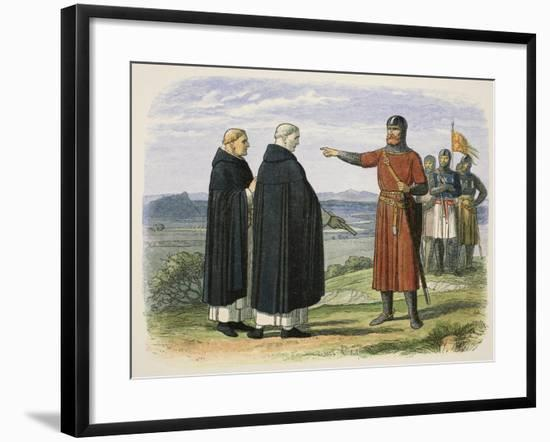 Wallace Rejects the English Proposals-James William Edmund Doyle-Framed Giclee Print