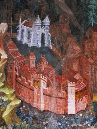 Walled City--Giclee Print