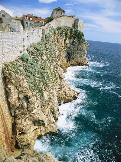 Walled Town of Dubrovnik on Dalmatian Coast-Macduff Everton-Photographic Print