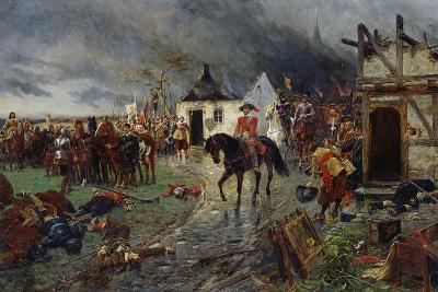 Wallenstein: a Scene of the Thirty Years War-Ernest Crofts-Giclee Print