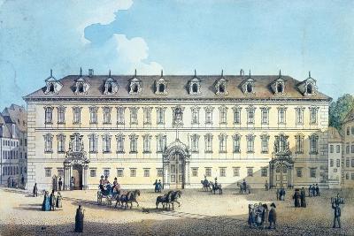 Wallenstein Palace, C.1830-Gustav Friedrich Amalius Taubert-Giclee Print
