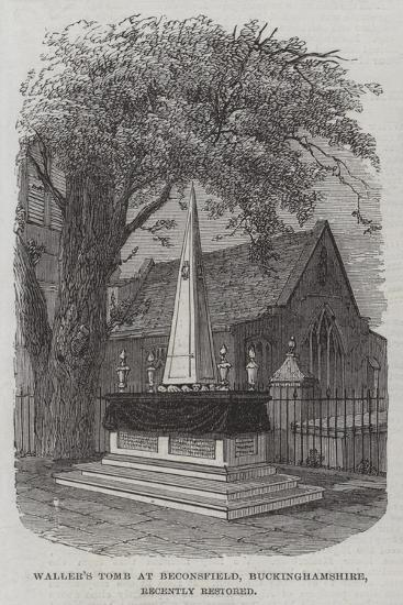 Waller's Tomb at Beaconsfield, Buckinghamshire, Recently Restored--Giclee Print