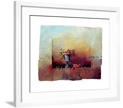 Walls II-Mike Harris-Framed Art Print