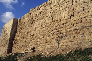 Walls of Amman Citadel, Jordan