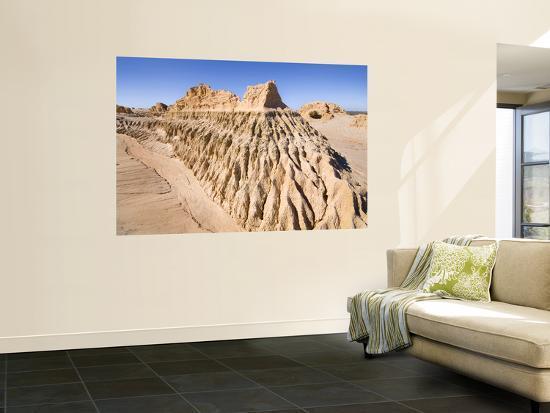 Walls of China' Sand Formations-Rachel Lewis-Wall Mural