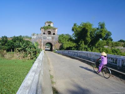 Walls of the Citadel, Historic Former Political Capital, Hue, Central Vietnam, Indochina-Robert Francis-Photographic Print