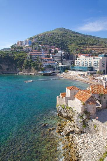 Walls of the Old Town, Budva, Montenegro, Europe-Frank Fell-Photographic Print