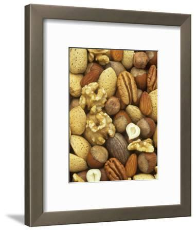 Nuts, Pecan, Walnut, Hazel and Almond