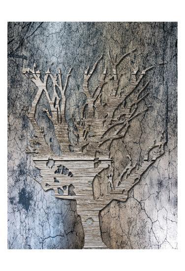 Walnut Grove-Sheldon Lewis-Art Print
