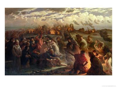 Walpurghis Night, 1862-Gustav Adolph Spangenberg-Giclee Print