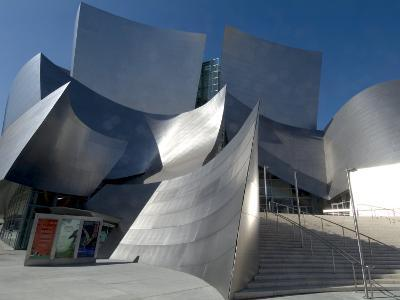 Walt Disney Concert Hall, Part of Los Angeles Music Center, Frank Gehry Architect, Los Angeles-Ethel Davies-Photographic Print