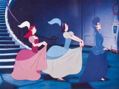 Walt Disney's Cinderella: The Wicked Stepmother, Anastasia and Drisella