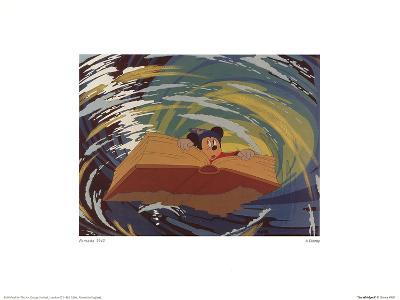 Walt Disney's Fantasia: The Whirlpool--Art Print