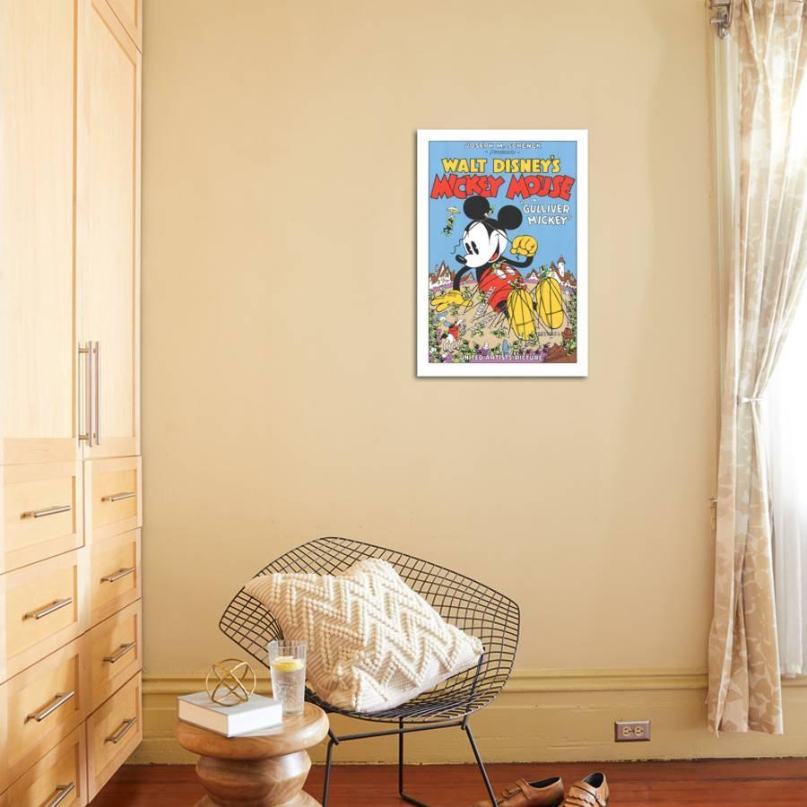 Walt Disney\'s Mickey Mouse-Gulliver Mickey Serigraph by Unknown ...