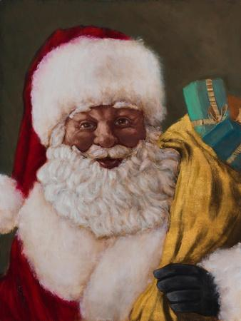 African American Saint Nick Arrives