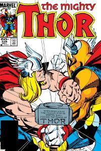 Beta Ray Bill: Godhunter No.2 : The Mighty Thor Cover: Thor by Walt Simonson