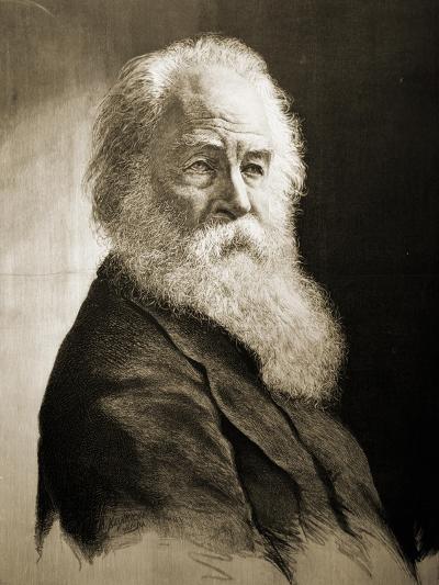 Walt Whitman-Moritz Klinkicht-Giclee Print