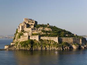 15th Century Castello Aragonese d'Ischia, Ischia Ponte, Ischia, Bay of Naples, Campania, Italy by Walter Bibikow