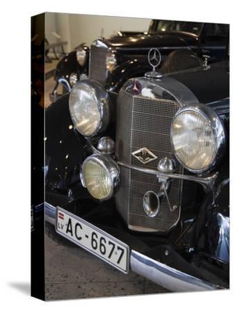1930s-Era Mercedes Cars, Riga Motor Museum, Riga, Latvia