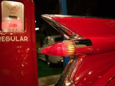 1959 Red Cadillac, Elvis Presley Automobile Collection Museum, Memphis, Tennessee, USA