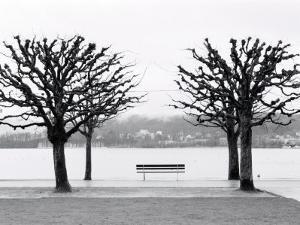 Along Lake Lucerne, Lucerne, Switzerland by Walter Bibikow