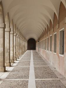 Arched Walkway, the Royal Palace, Aranjuez, Spain by Walter Bibikow