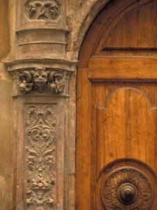 Architectural Detail, Tuscany, Italy by Walter Bibikow