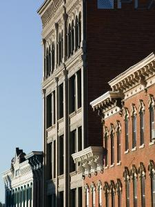 Architecture Along Main Street, Dubuque, Iowa by Walter Bibikow