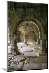 Armenia, Debed Canyon, Sanahin. Sanahin Monastery interior, 10th century. by Walter Bibikow