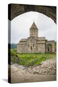 Armenia, Tatev. Tatev Monastery interior, 9th century. by Walter Bibikow