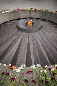 Armenia, Yerevan. Armenian Genocide Memorial by Walter Bibikow