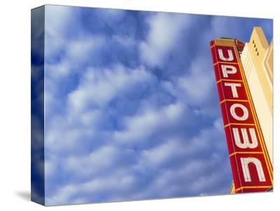 Art-Deco Uptown Theater, Napa, Napa Valley Wine Country, Northern California, Usa