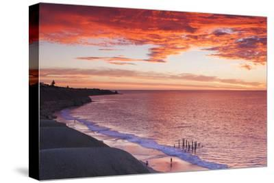 Australia, Fleurieu Peninsula, Port Willunga, Sunset