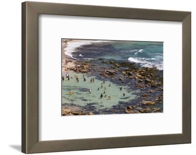 Australia, Sydney, Bronte, Bronte Beach, Elevated View