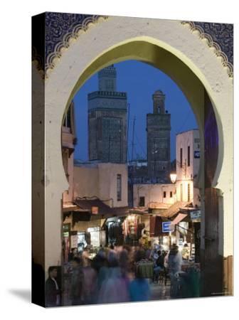 Bab Bou Jeloud Gate, Fes El-Bali, Fes, Morocco