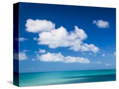 Bahamas, Eleuthera Island, Landscape by the Glass Window Bridge
