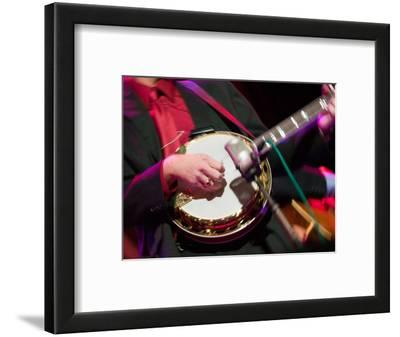 Banjo Player Detail, Grand Ole Opry at Ryman Auditorium, Nashville, Tennessee, USA