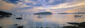 Bar Harbor, Mt. Desert Island, Maine, USA by Walter Bibikow